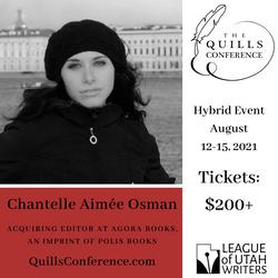 Chantelle Aimée Osman, Agora Books/ Polis Books