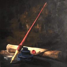 "Original Art ""Master of my Trade by Sean Ricks"