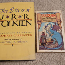 The Letters of JRR Tolkien by Humphrey Carpenter and Smith of Wootton Major by JRR Tolkien