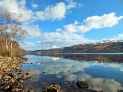 View from Loch Rannoch