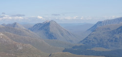 View to Glencoe from Beinn Sgulaird