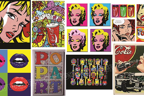 CUADROS POP ART