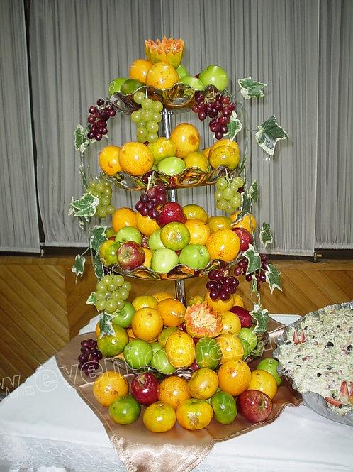 Fruteros En Electroplata