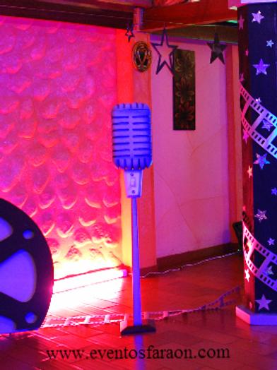 Microfono de Pedestal- Urna-