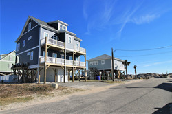 Front of House 2 with Beach Access