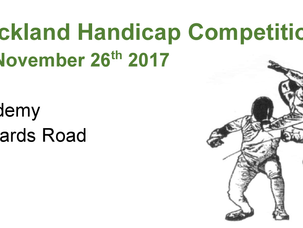 The Buckland Handicap Competition 2017