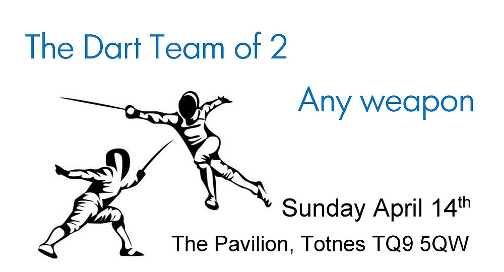 The Dart Team of 2 (Foil, Epee or Sabre Teams)