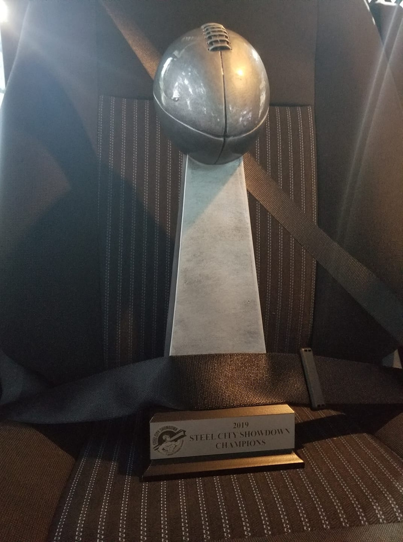 The Steel City Showdown Championship Trophy