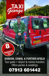 Taxi George Dunoon Flyer