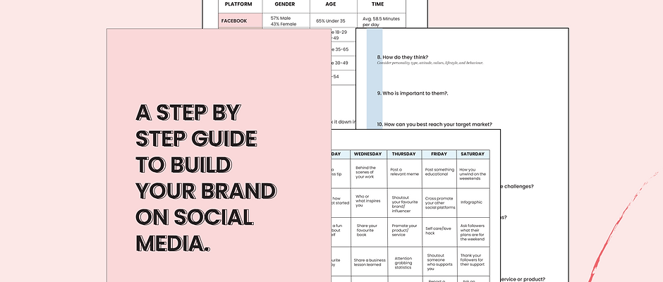 A Step By Step Guide To Build Your Brand Online