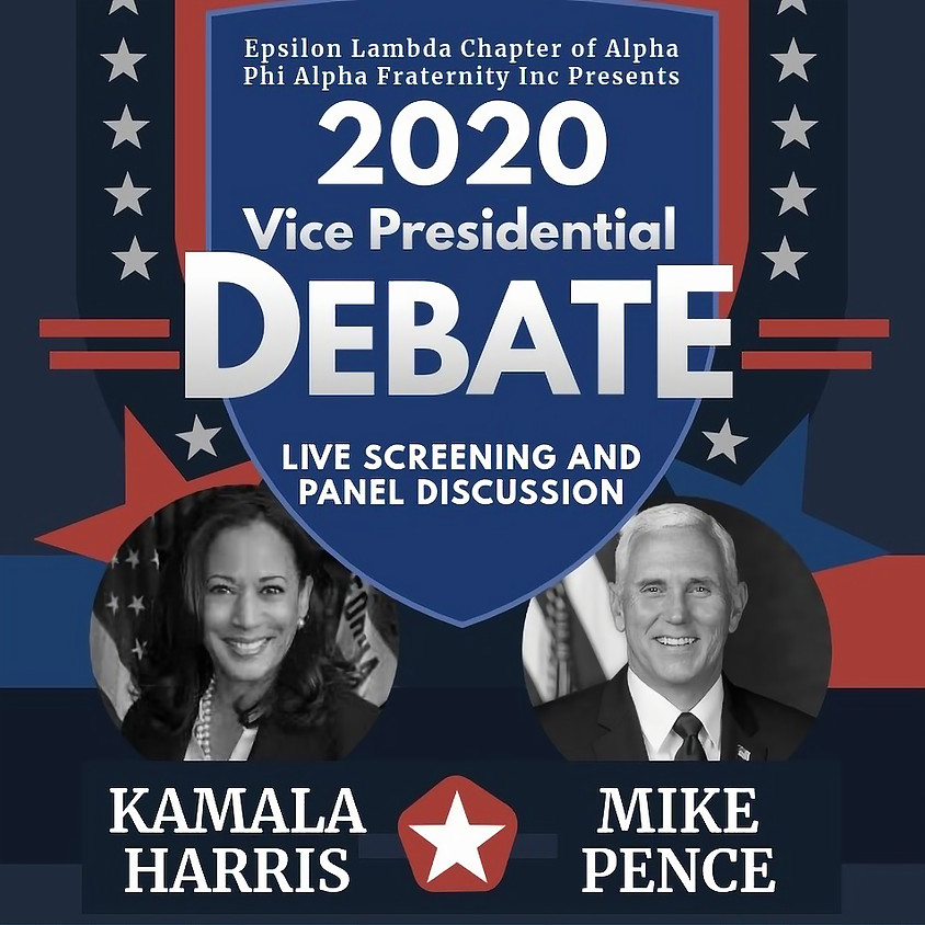 Panel Discussion and Viewing of the 2020 VP Debate