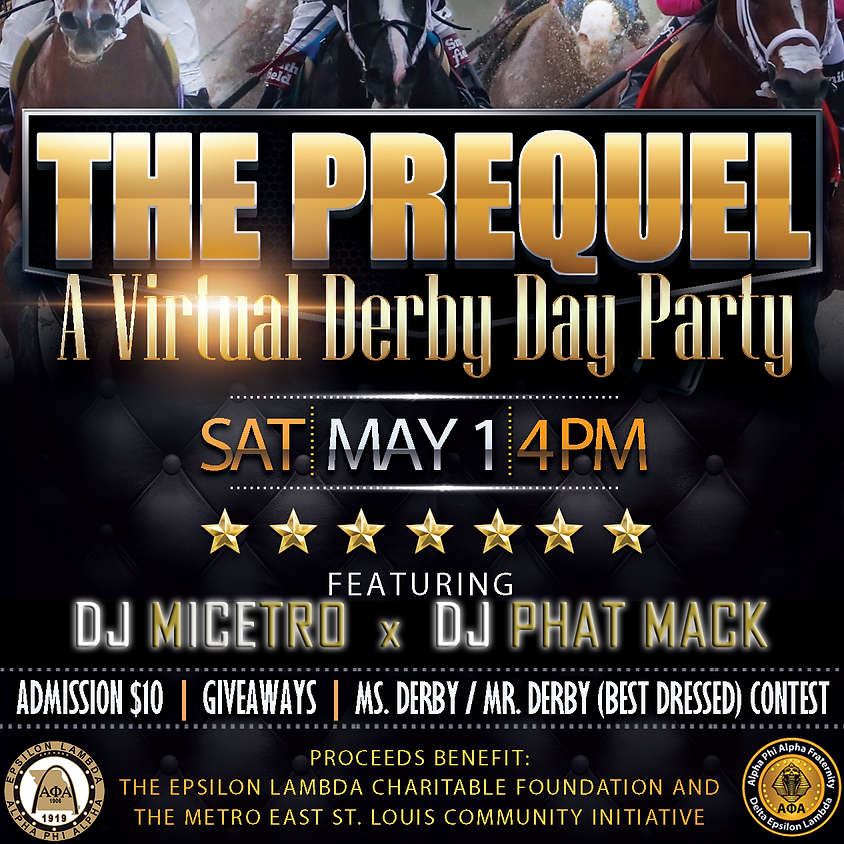 Arch City Derby Day Party - THE PREQUEL
