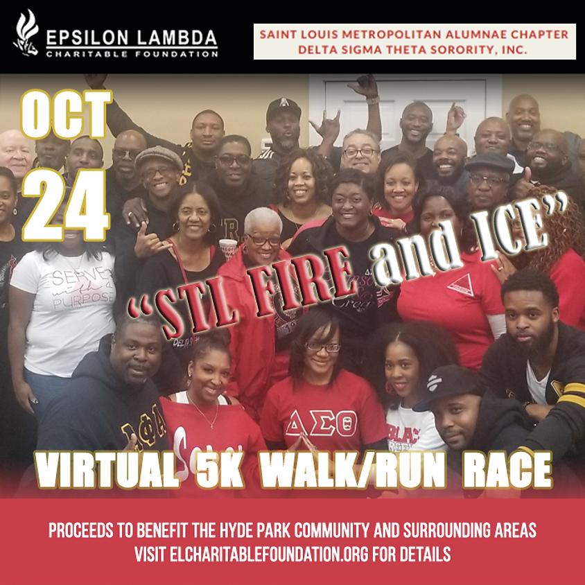STL Fire and Ice Virtual 5K Walk/Run Race