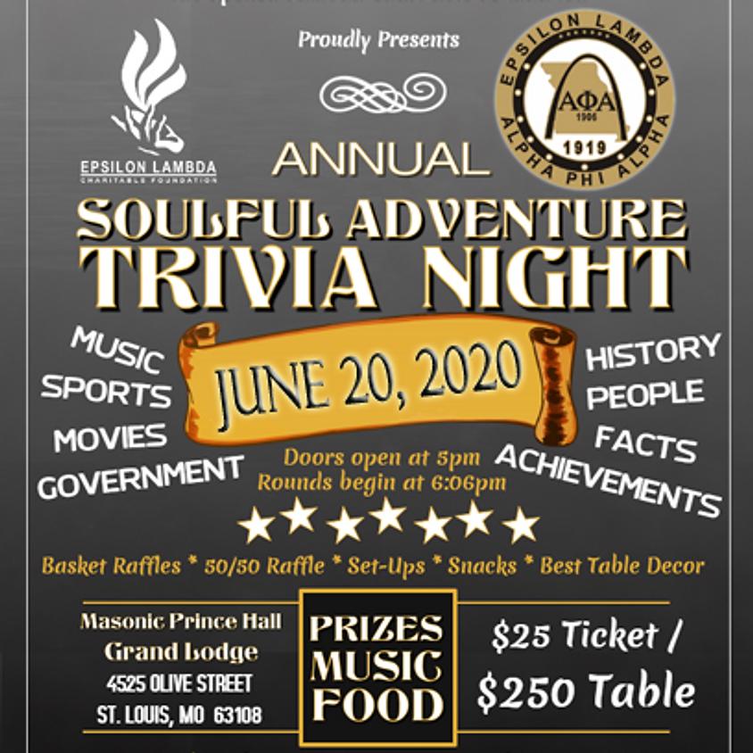 Soulful Adventure Trivia Night