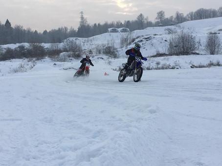Мото-парк открыл зимний сезон!