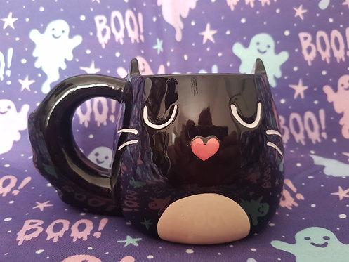 Black Kitty Mug