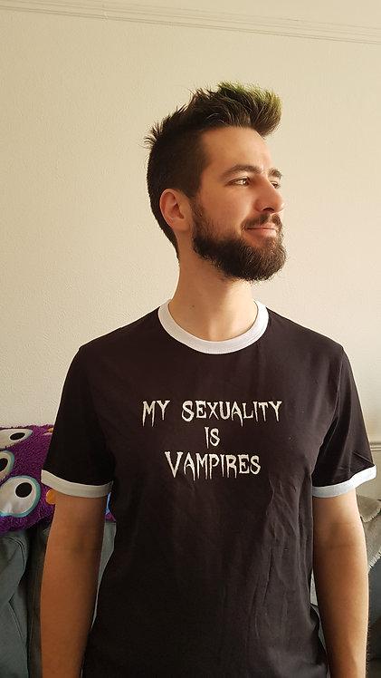 My Sexuality is Vampires Tee