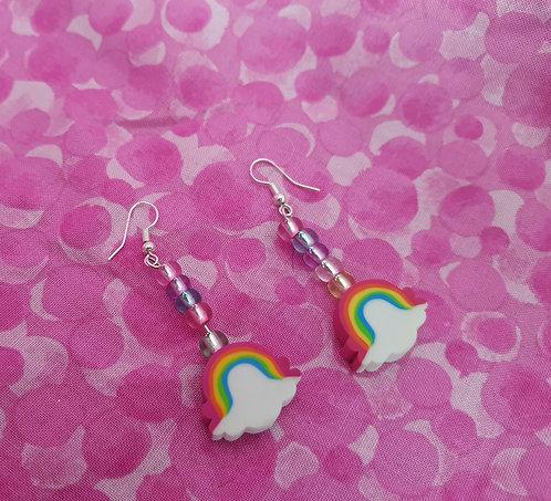 Novelty Eraser Earrings