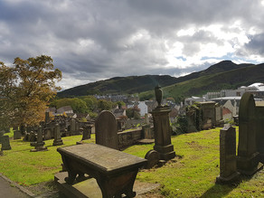 Edinburgh, Inktober & The Patreon