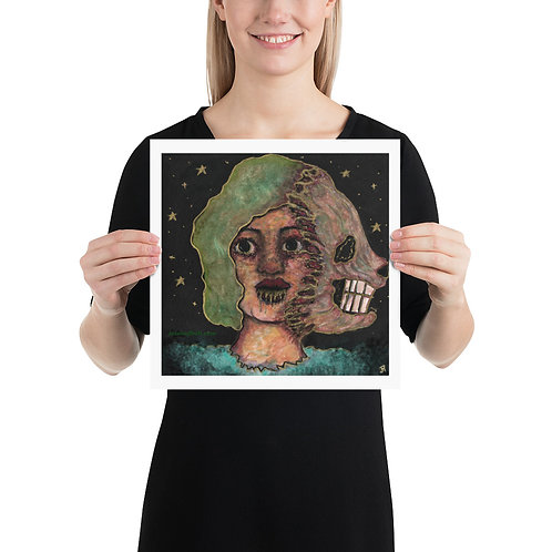 Two-Faced Print