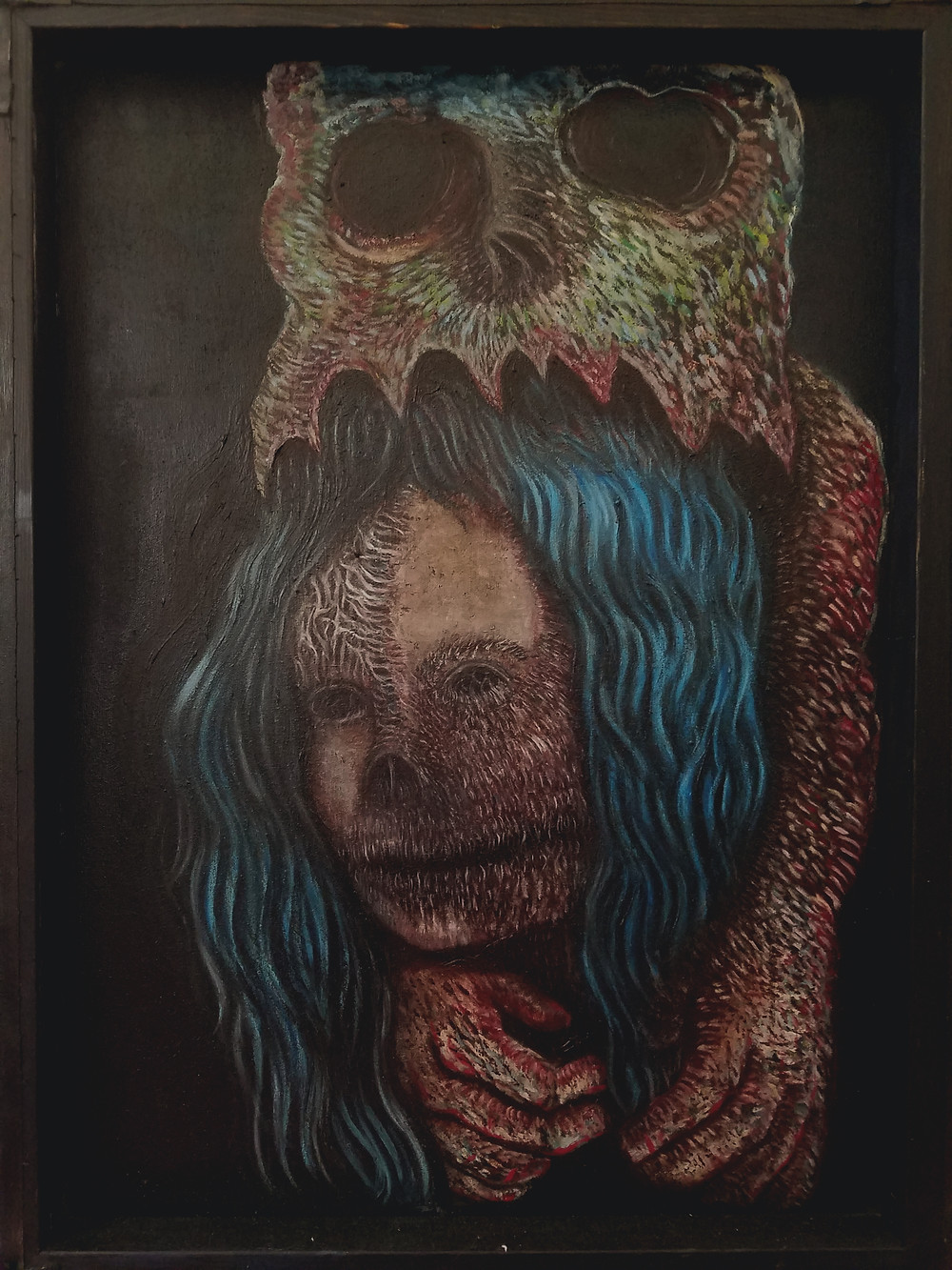 Demons on my Mind -Oil on canvas