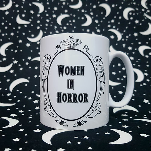 Women in Horror Mug
