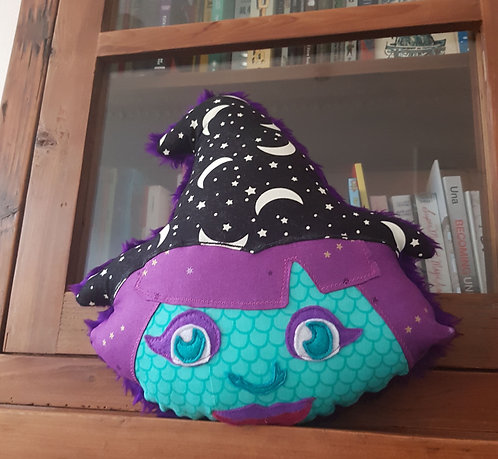 Witchy Pillow (Ready to Ship)