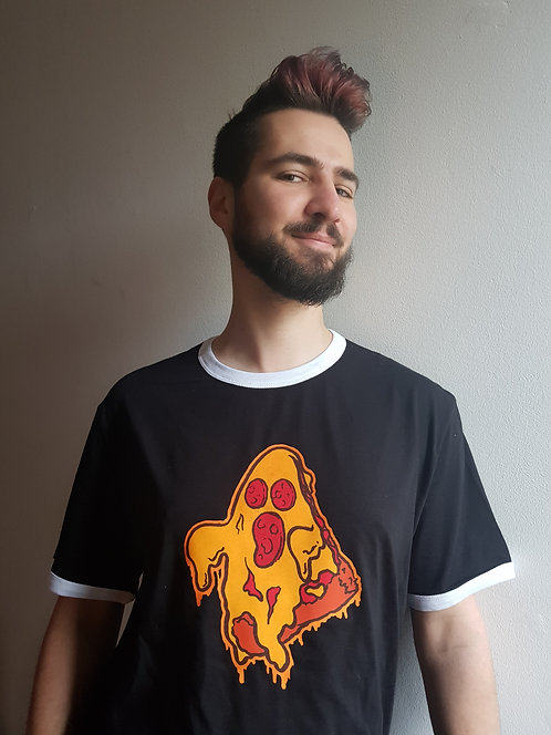 Pizza Ghost T Shirt