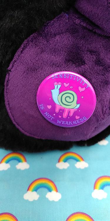 Sensitivity Pin Badge