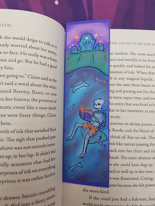 Skeleton  Bookmark