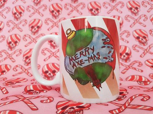 Merry Axe-Mas Mug