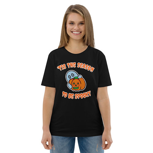 Unisex Spooky Season Organic Cotton T-shirt