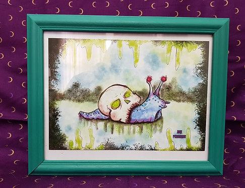 Necromancer Snail Print