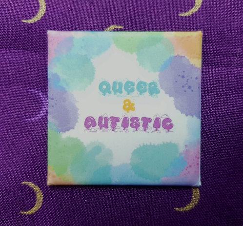Queer&Autistic Pin Badge