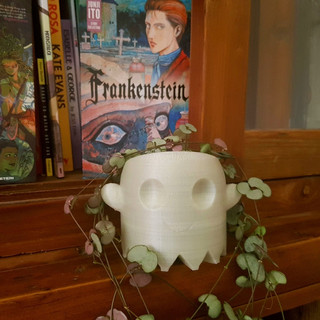 Mini Ghost Plant Pot