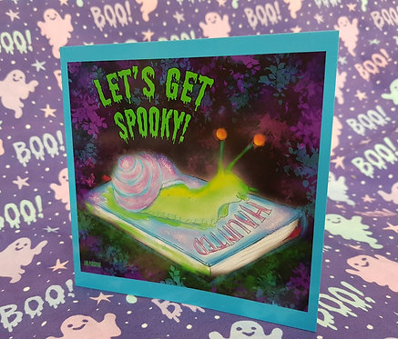 Let's Get Spooky Card
