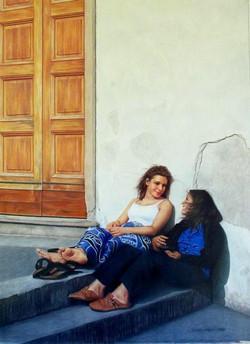 Carmen & Michelle Taking Time