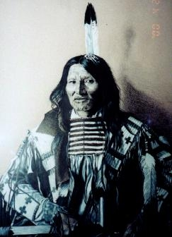 Kicking Bear - Lakota Sioux