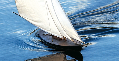 bateau radiocommandé Youpi