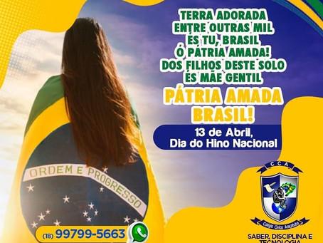 Dia do Hino Nacional - 13 de Abril