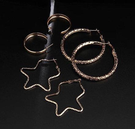 Hoop Earrinngs Set