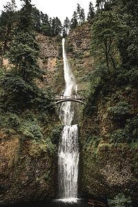 Bridge over Waterfall