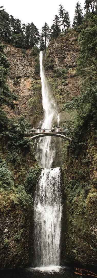 Pont sur la Cascade