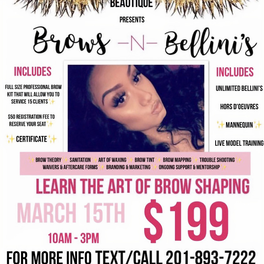 Brows -N- Bellini's