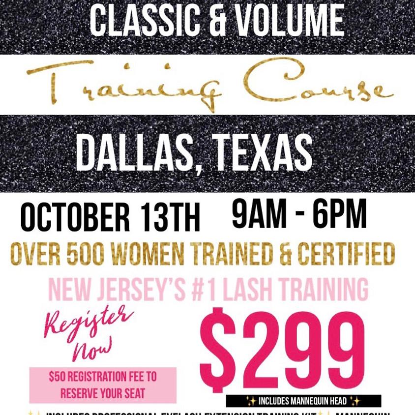 Dallas Lash Training