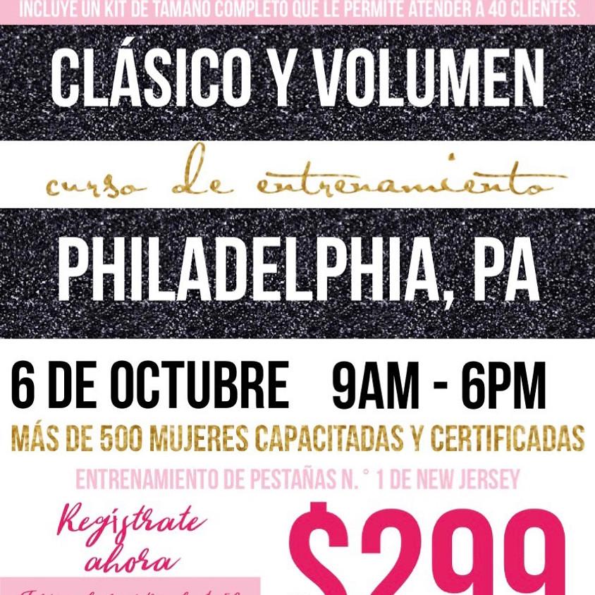 Philadelphia Lash Entrenamiento Español