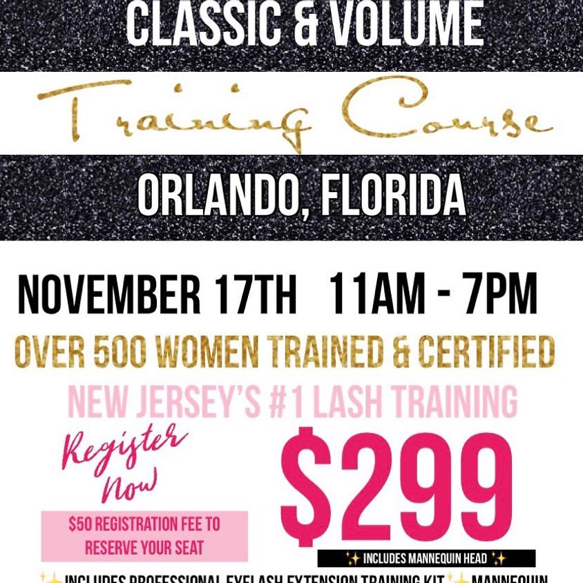 Orlando Lash Training