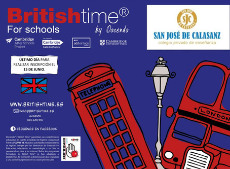 Britishtime for School