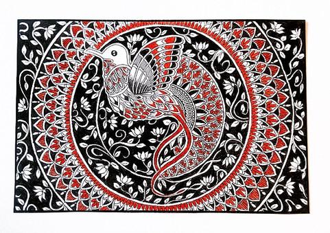 Mandala for Soul // Aahna Chandrakar — Illustration