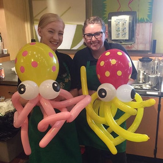 Made_balloons_for_my_Starbucks_girls!_#o